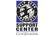 HDI組織認定 (CSC:Certified Support Center)取得